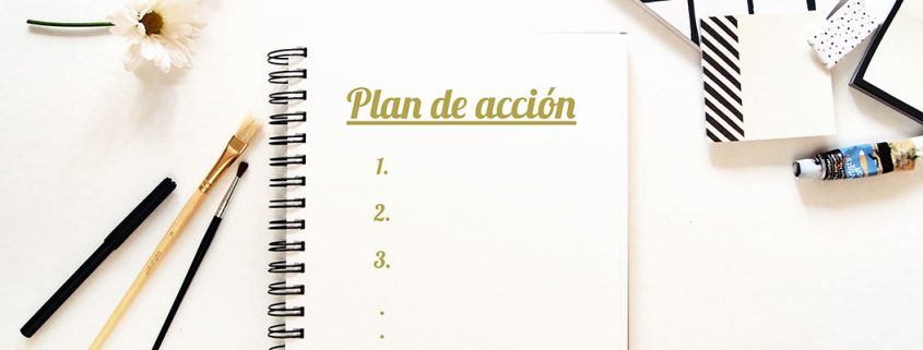 Plan de acción para objetivos